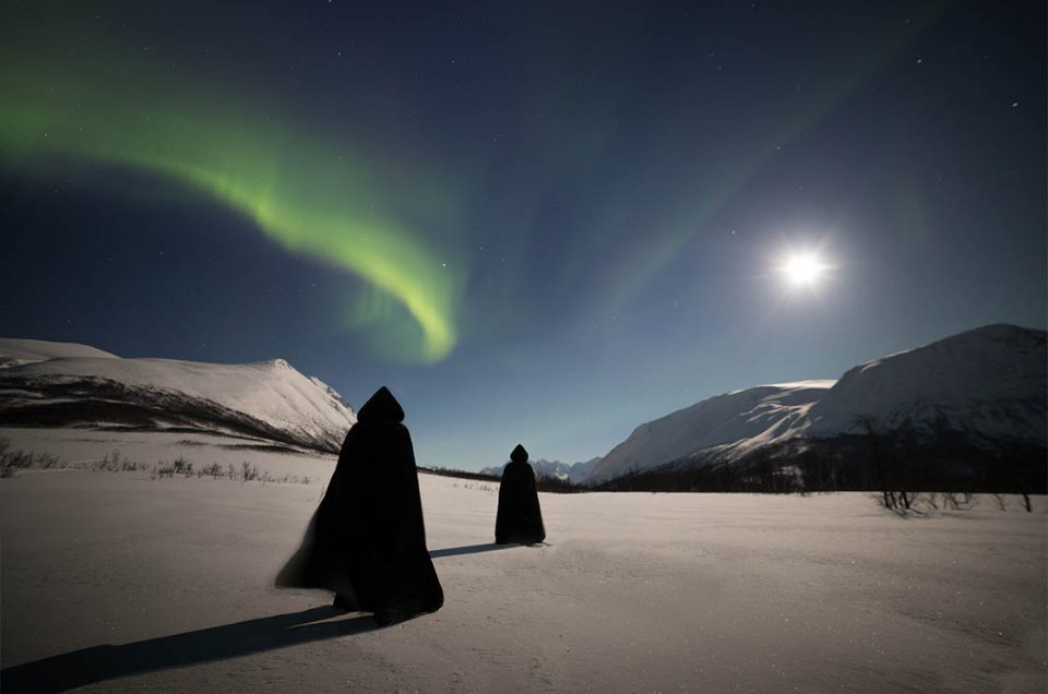 'Seiðr' performance IN THE ARCTIC CIRCLE