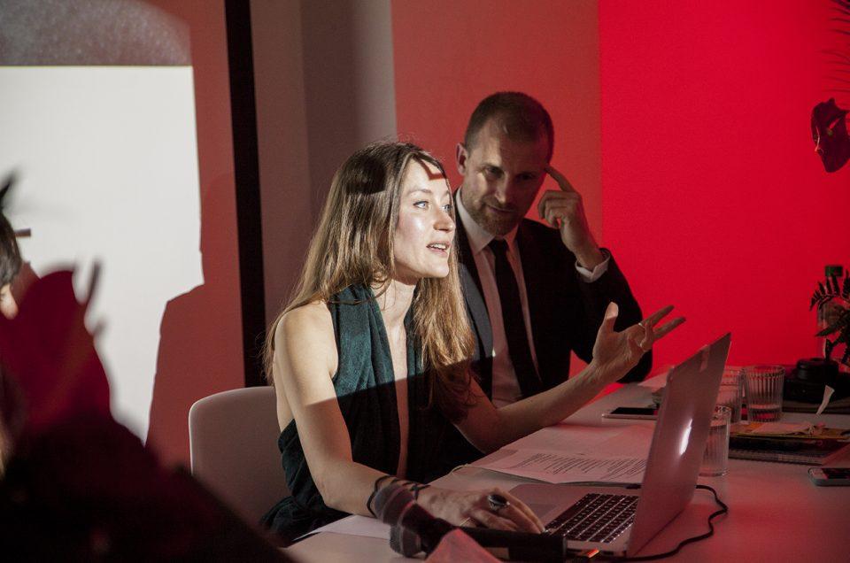 Press conference in London/ Giudecca Art District